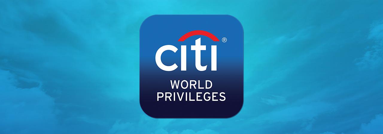 CITI WORLD PRIVILEGES EXPERIENCES