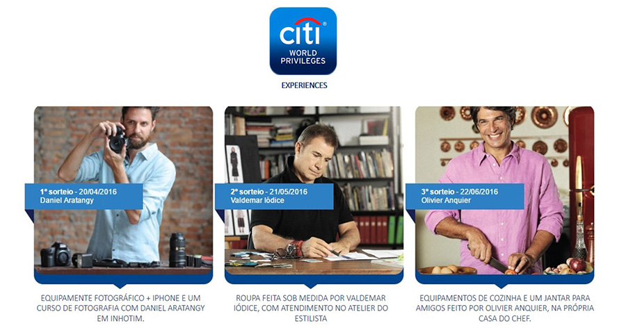 CITI WORLD PRIVILEGES EXPERIENCES