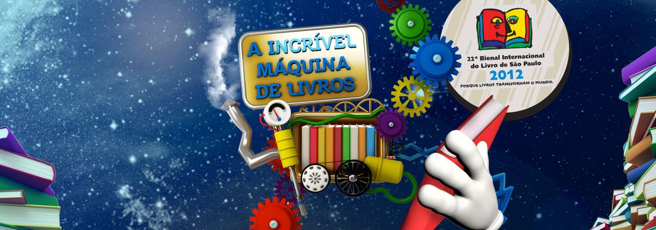 A INCRÍVEL MÁQUINA DE LIVROS